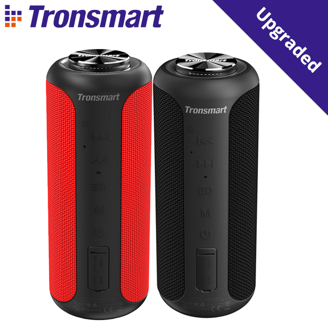 $ US $74.66 Tronsmart T6 Plus Upgraded Edition Bluetooth 5.0 Portable Speaker with Up to 40W Power, 360° Surround Sound, IPX6 Waterproof, NF