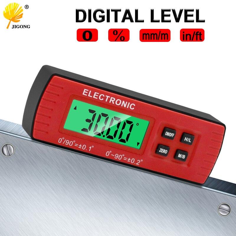 Digital Level Box Electronic Angle Gauge Protractor Angle Finder Bevel Gauge With Magnetic Base
