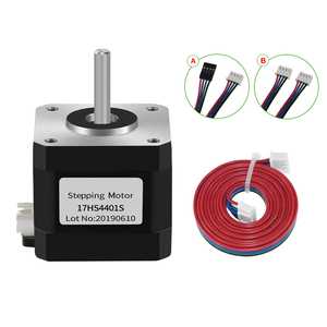 Nema17 Stepper Motor 4 Lead Stepper Motor Nema 17 Motor with 1m Cable 42BYGH 38MM 1. 5A (17HS4401S) for CNC XYZ 3D Printer