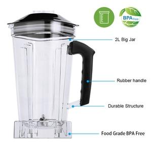 Image 5 - Цифровой 3HP BPA FREE 2L автоматический тачпад профессиональный блендер, миксер, соковыжималка высокой мощности, Кухонный комбайн, лед, смузи, фрукты