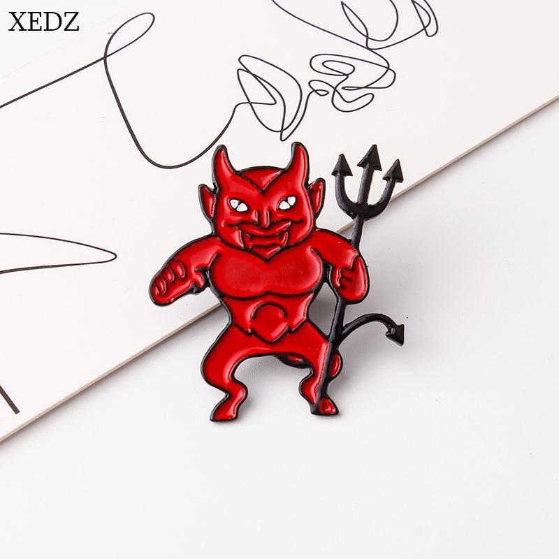 Devil on My Shoulder Enamel Pin