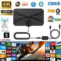 טלוויזיה אנטנה booster מגבר 1180 מיילס טלוויזיה אנטנה דיגיטלי HDTV מקורה אנטנה רדיוס Surf מגבר HD Mini אנטנות אנטנה אותות Booster (1)
