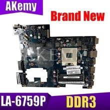 Laptop motherboard For Lenovo G470 PC Mainboard PIWG1 LA 6759P HDMI full tesed DDR3
