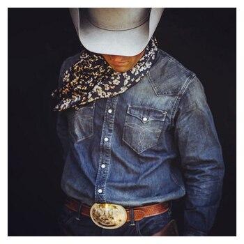 Men's Denim Coat Embroidery Washed Denim Shirt for Men Long Sleeved Vintage Denim Blouse New Style Casual Tops Men Cowboy  Shirt men figure print patched denim shirt