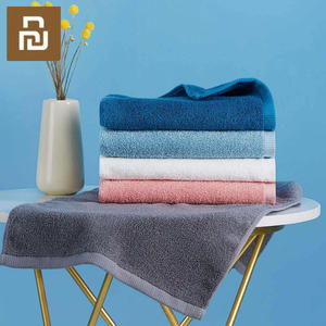 Image 4 - Youpin Towel 100% Cotton Strong Water Absorption Bath Soft and Comfortable Beach Face Hand Towels 32 X 70cm