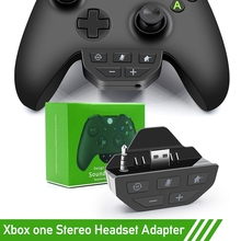 Handle Stereo Headset Adapter Controller -Audio Adapters Headphone Converter For -Xbox One Wireless Gamepad