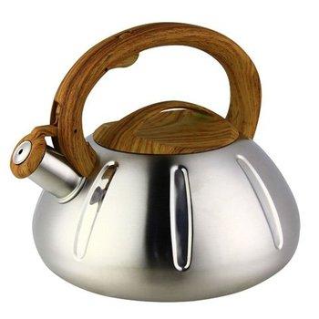 Czajnik ze stali nierdzewnej czajnik gazowy kuchenka gazowa czajnik automatyczny dźwięk czajnik gwizdek Camping czajnik do herbaty garnek emaliowany Camping tanie i dobre opinie CN (pochodzenie) STAINLESS STEEL Ekologiczne CE UE a787a