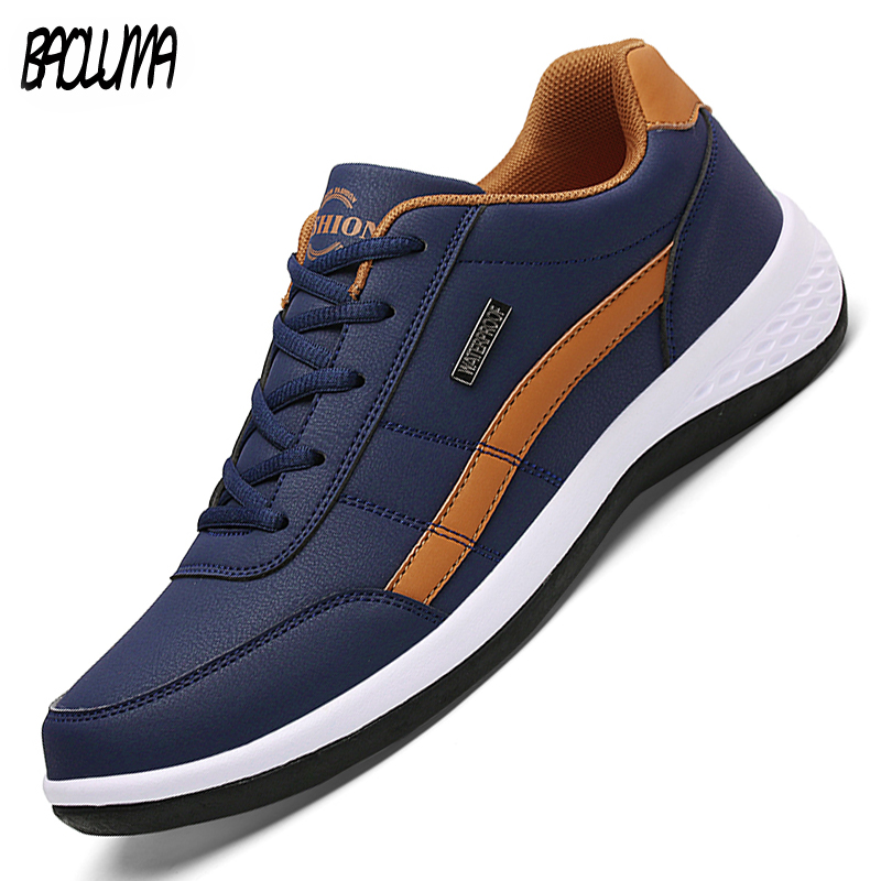 2020 Men's Casual Shoes Men Sneakers Loafers Flat Breathable Fashion Moccasins Designer Style Man Sneakers Hot Sale 39-46