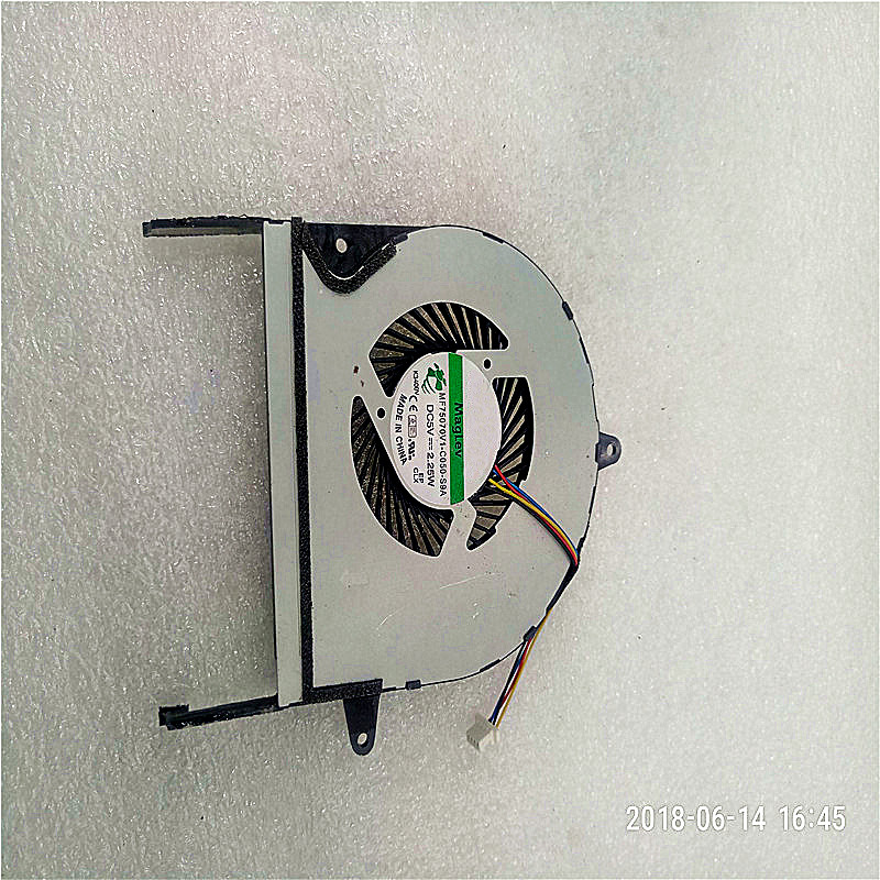 CPU Fan For ASUS UX52 UX52A UX52VS UX52ZV UX52V Laptop Cpu Cooling Fan MF75070V1-C050-S9A