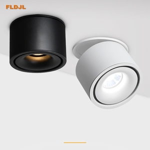 Image 1 - Luces empotrables de techo regulables, lámpara nórdica regulable de 10W, 12W, 15W, foco para punto de luz interior