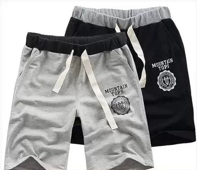 Pants Beach Short Slim Fit Men Women's Couples Short Athletic Pants Sports Shorts Summer New Style Korean Horse Pants Men's