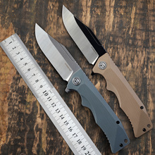 Pocket-Tool Folding-Knives Petrified Diving Outdoor Survival D2-Steel Hiking PF959 Camping