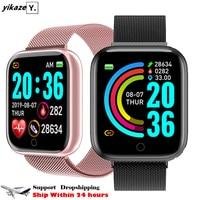 2020 D20 Pro Smart Uhr Männer Frauen Blutdruck Monitor Sport Smartwatch Fitness Tracker Armband Smart Uhr für Android IOS