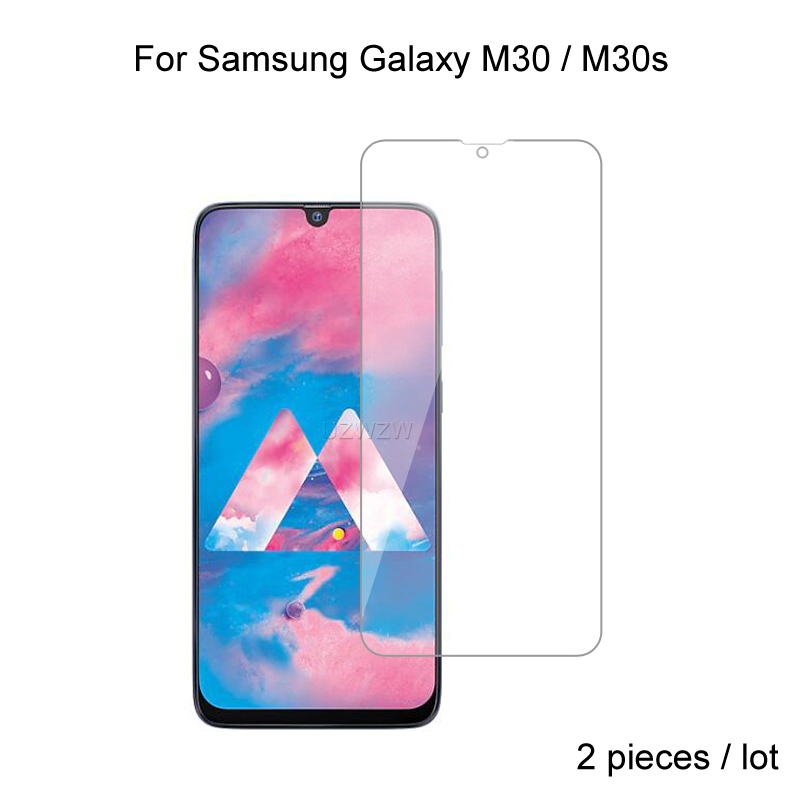 2pcs Glass For Samsung Galaxy M30 M30s 2.5D 0.26mm Premium Protective Tempered Glass Screen Protector For Samsung M30 M30s Glass
