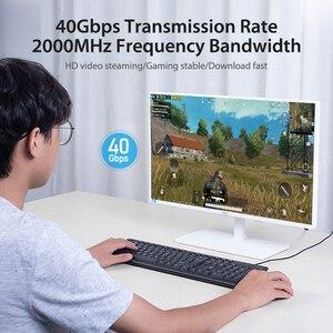 Image 5 - Chính hãng Vention Cat8 Cáp Dù RJ45 SSTP Miếng Dán Cáp 40Gbps RJ 45 LAN Cáp cho Máy Tính Laptop Router Modem MÁY TÍNH cat7 Cáp Ethernet