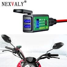 Nexvaly dual usb зарядное устройство для мотоцикла sae разъем
