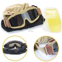 Protective-Eyewear Night-Vision Military Hunting-Sunglasses Tactical-Goggles Shooting