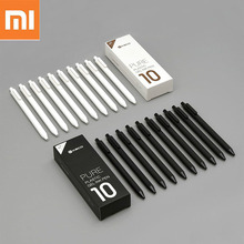 10pcs Xiaomi KACO Gel Pen 0.5mm Black Color Ink Refills ABS Plastic Pen Write Length 400MM Smoothly Writting For Office Study