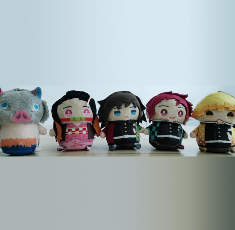 Demon Slayer Kimetsu No Yaiba Giyu Tomioka Mame-Meito Plush Doll Stuffed
