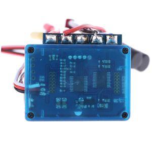 Image 2 - 방수 45A 60A 80A 120A 브러시리스 ESC 전기 속도 컨트롤러 방진 1/8 1/10 1/12 RC 자동차 크롤러 RC 보트 부품