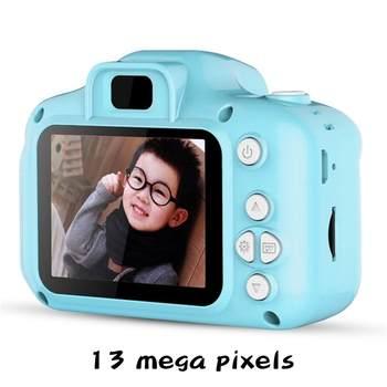 1080P HD Child camera HD digital camera 2 inch cute cartoon Camera toys children birthday gift child toys Camera 6