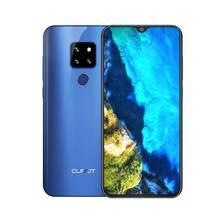 Cubot-Telefone celular P30 com reconhecimento facial, 6,3 polegadas, tela Waterdrop 2340x1080p, 4GB+64GB, Android 9.0 Pie Helio P23, 3 câmeras traseiras inteligentes, 4000mAh