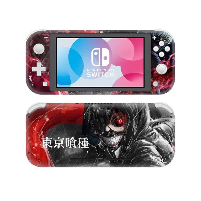 NintendoSwitch Miếng Dán Da Tokyo Ghoul Decal Dành Cho Máy Nintendo Switch Lite Bảo Vệ Nintend Công Tắc Lite Miếng Dán Da