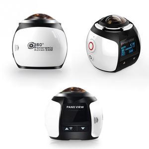 Image 5 - נגד רעידות VR רחב זווית HD עמיד למים מיני DV ספורט מצלמה WIFI 4K 360 תואר פנורמי הפעלה קלה