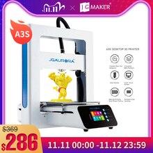 JGMAKER A3S impresora 3D,actualizada con tarjeta SD Envío de impresión directamente de fábrica o CZ/Alemania/Rusia almacén JGAURORA