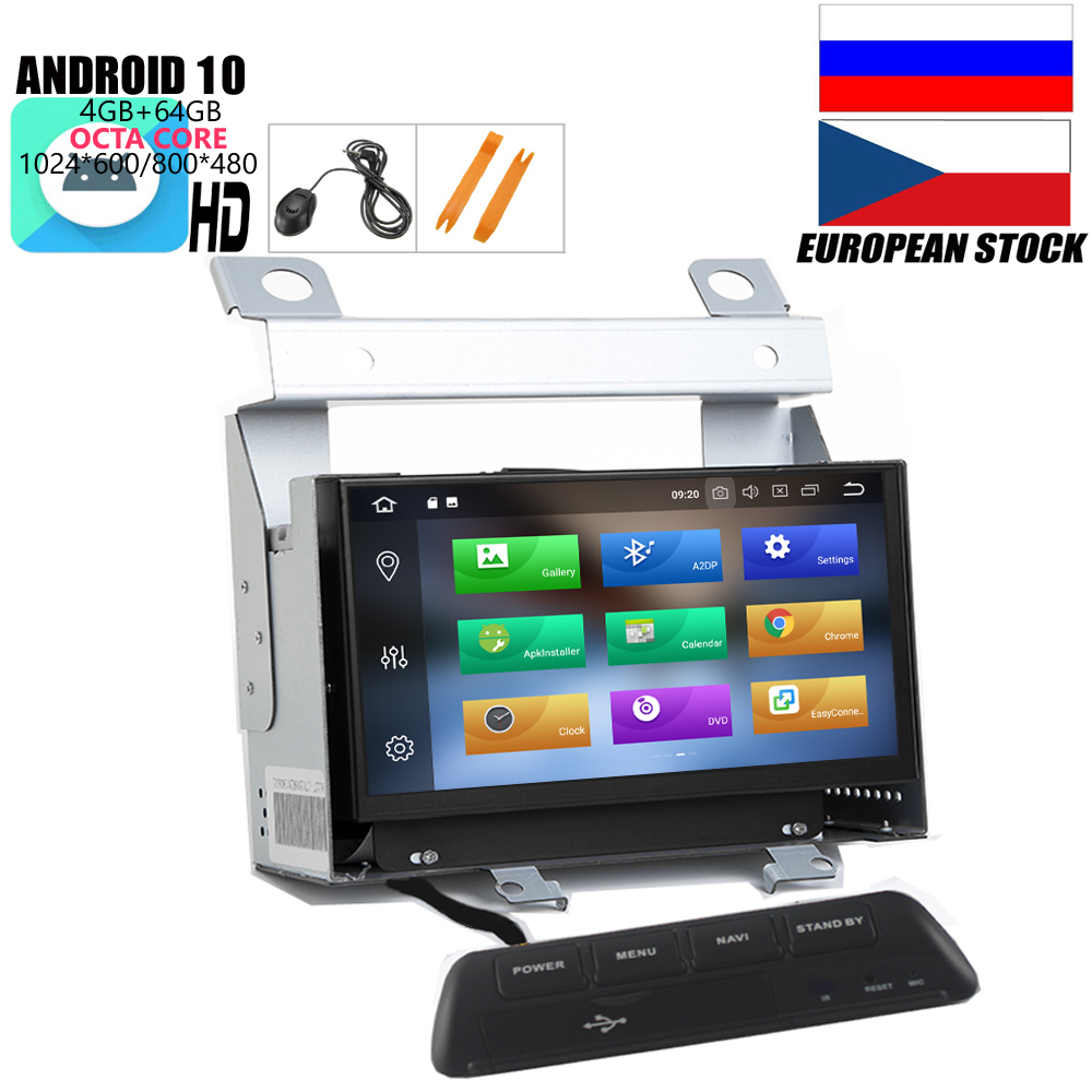 HIRIOT IPS 7 ''Android 10 DVD GPS плеер для LAND ROVER FREELANDER 2 3007-2012 головное устройство стерео Octa 8 Core 4 Гб + 64 Гб Wi-Fi DSP