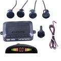 Автомобильный парковочный датчик 12 В с 4 датчиками s  автомобильная обратная задняя помощь  запасная Парковая Радиолокационная сигнализаци...