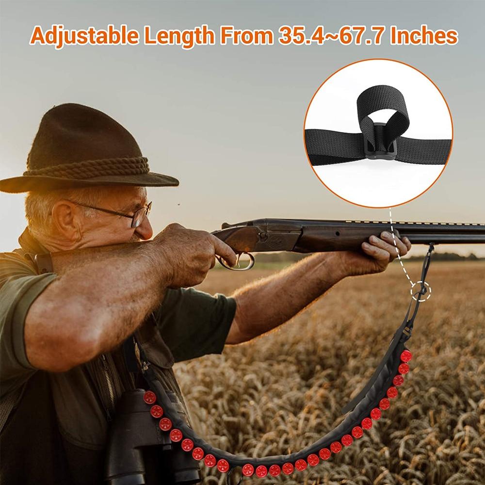 12 20 calibre munição sling ajustável 2