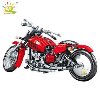 "Конструктор HUIQIBAO ""Мотоцикл"" 6"