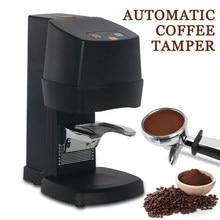 Électrique 58MM café inviolable Machine automatique plat presse moulin café grain poudre poids réglage expresso café presse