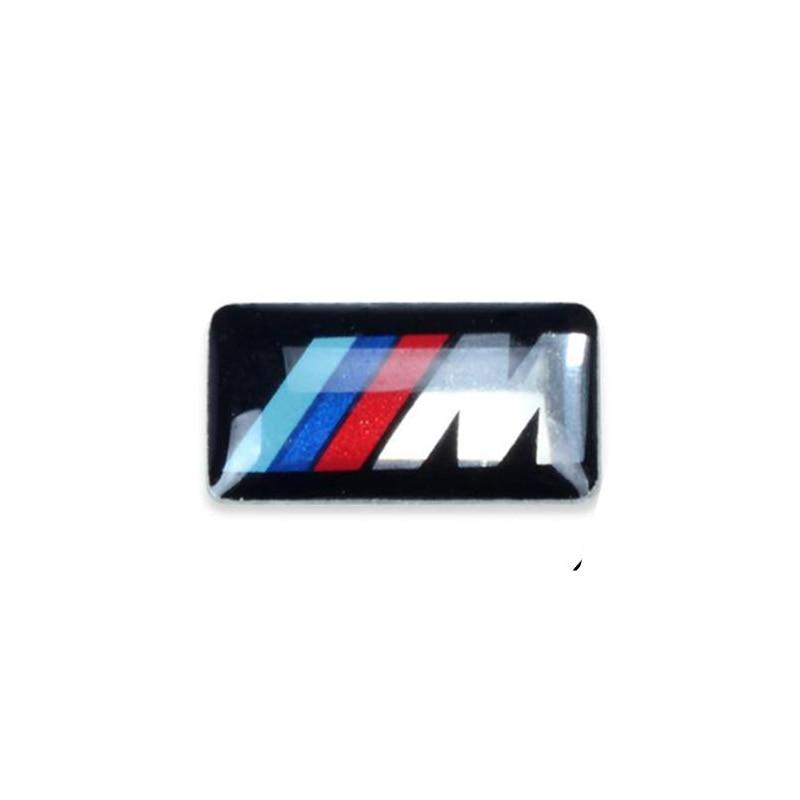 Car Vehicle Wheel Badge M Sport 3D Emblem Sticker Decals Logo For Bmw Series M1 M3 M5 M6 X1 X3 X5 X6 E34 E36 E6 Car Styling