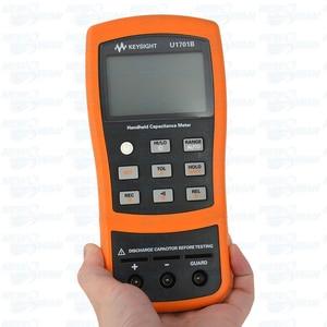 Venda quente alta precisão precison handheld medidor de capacitância digital elétrica alta sensível capacitância tester medidor de medição
