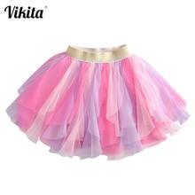 VIKITA Baby Kids skirt Girls Princess Glitter Sequined Tutu Skirt Toddlers Sequins Party Ballet Tutu Skirts Children Clothing