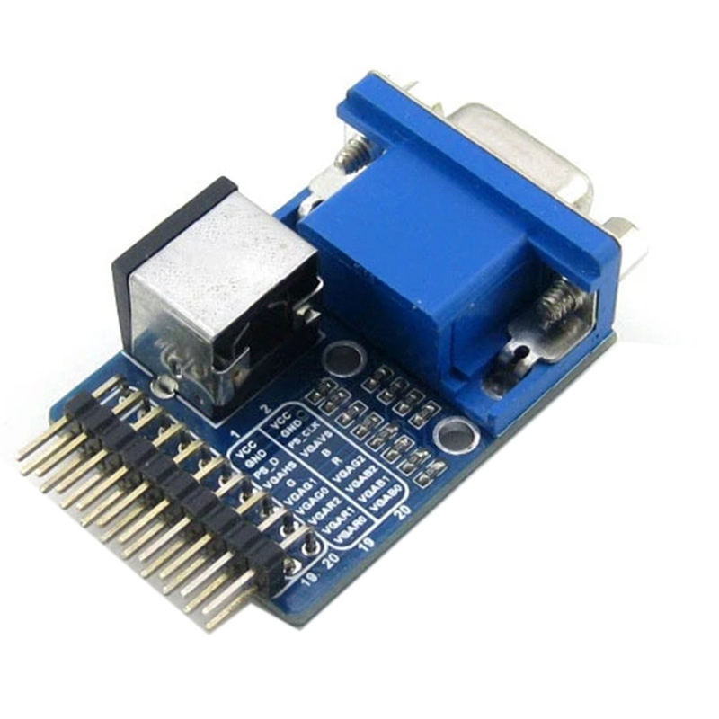 VGA to PS2 Module VGA PS2 Test Module Adapter Board Development Board