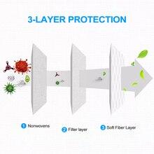 100Pcs 3-Ply Disposable N95 Mask KF94 Mascherine Antivirus ffp3 Masks Anti Coronavirus Face Mouth Dust Masks Korea Fast Delivery