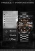 Tevise zegarek mężczyźni automatyczne mechaniczne zegarki męskie sportowe luksusowe marki zegarki self-wiatr wodoodporny złoty zegar Relogio Masculino