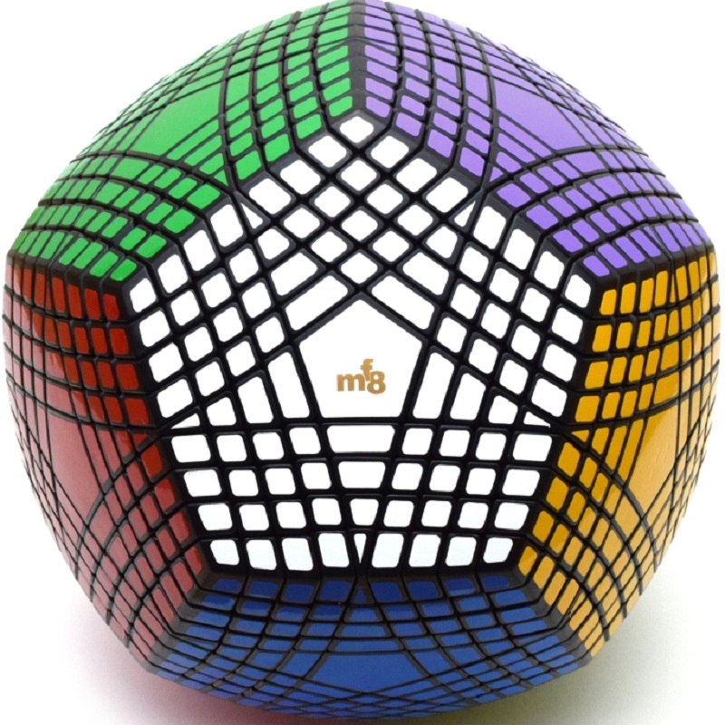 Collection MF8 Petaminx Stickered Magic Cube Puzzle Collected Dodecahedron 9x9 Speed Magic Puzzle Collection Megaminx Cube