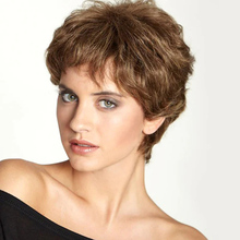 Human Hair Blend Wig women Wig Wavy Short Hairstyles 2020 Berry Wavy Capless costume wig for white women 8 inch