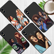 friends luxury For iPhone X XR XS Max 5 5S SE 6 6S 7 8 Plus Oneplus 5T Pro 6T phone Case Cover Coque Etui funda capinha capa karl lagerfeld for iphone x xr xs max 5 5s se 6 6s 7 8 plus oneplus 5t pro 6t phone case cover funda coque etui funda capa cute