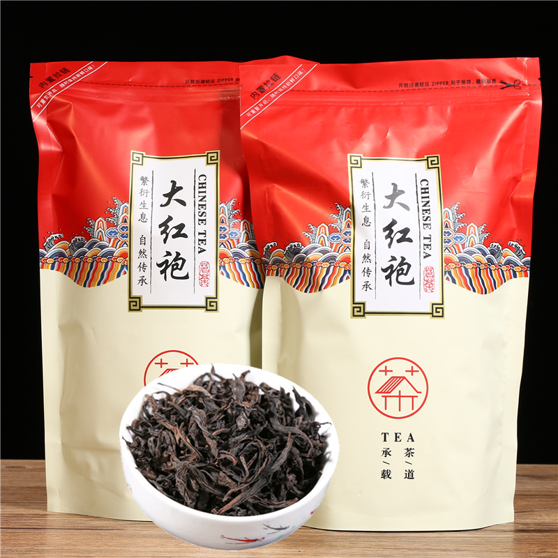 Chinese Da -Hong -Pao Tea Big Red Robe Oolong Tea The Original Green Food Wuyi Tea For Health Care Lose Weight Black Tea