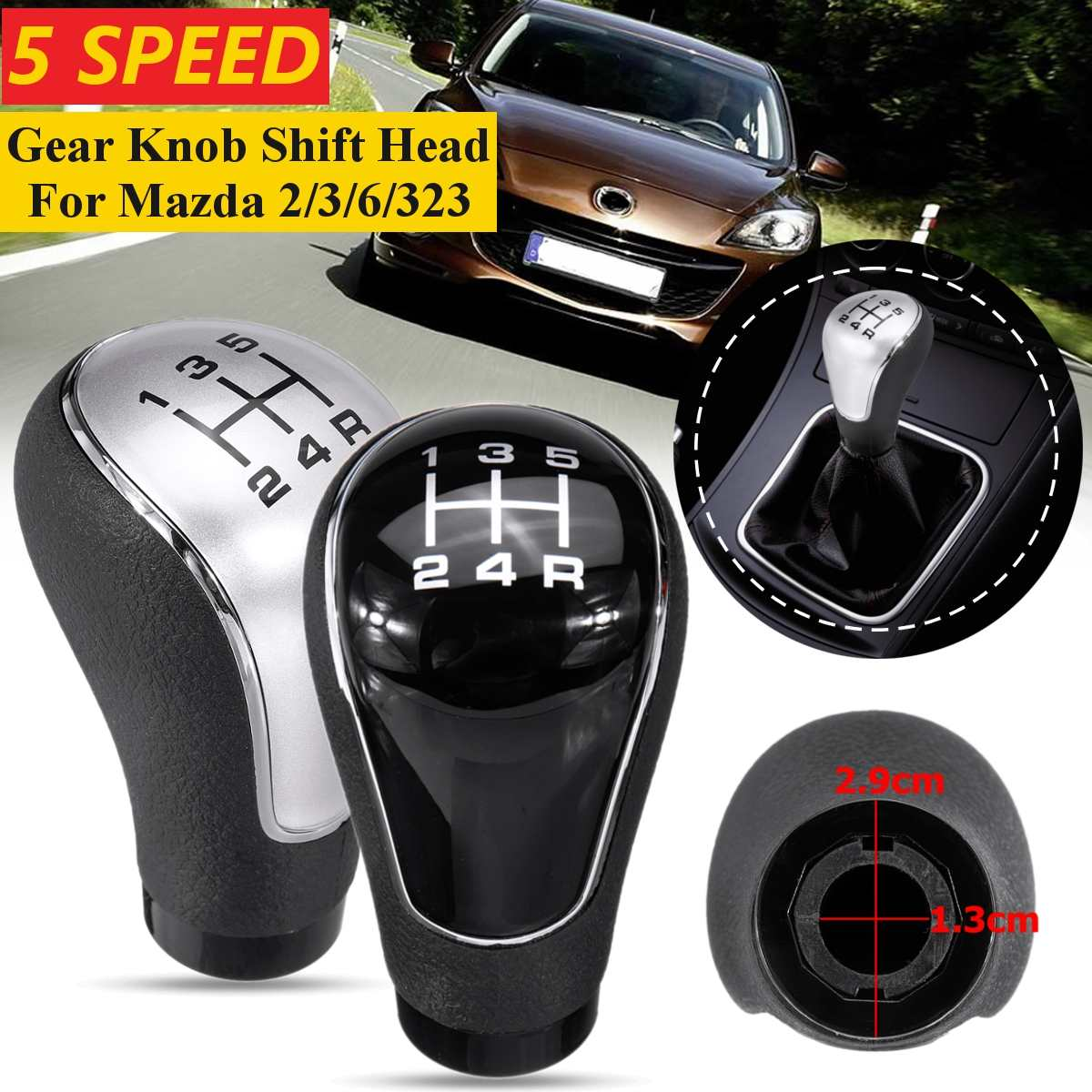 Auto-Tuning & -Styling FITS MAZDA RX8 GEAR GAITER SHIFT BOOT 2 ...