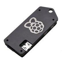ZV2 Aluminium Schutzhülle Metall Gehäuse Shell für Raspberry Pi Null W