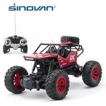 Sinovan rc carros 1:18 carro de controle de rádio buggy fora de estrada caminhões brinquedos para crianças alta velocidade escalada mini rc drift carro de condução