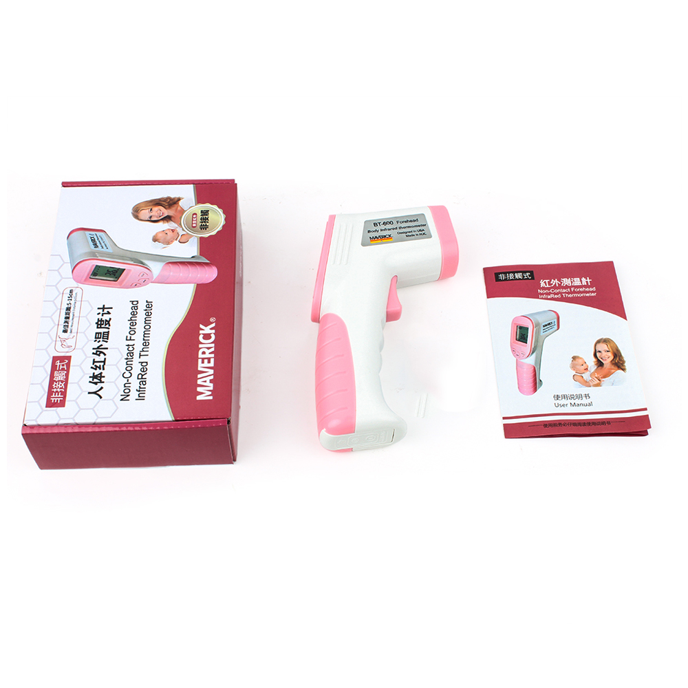 Electronic Non Contact Infrared Thermometer for Baby and Adult for Forehead and Ear Temperature Measurement 4