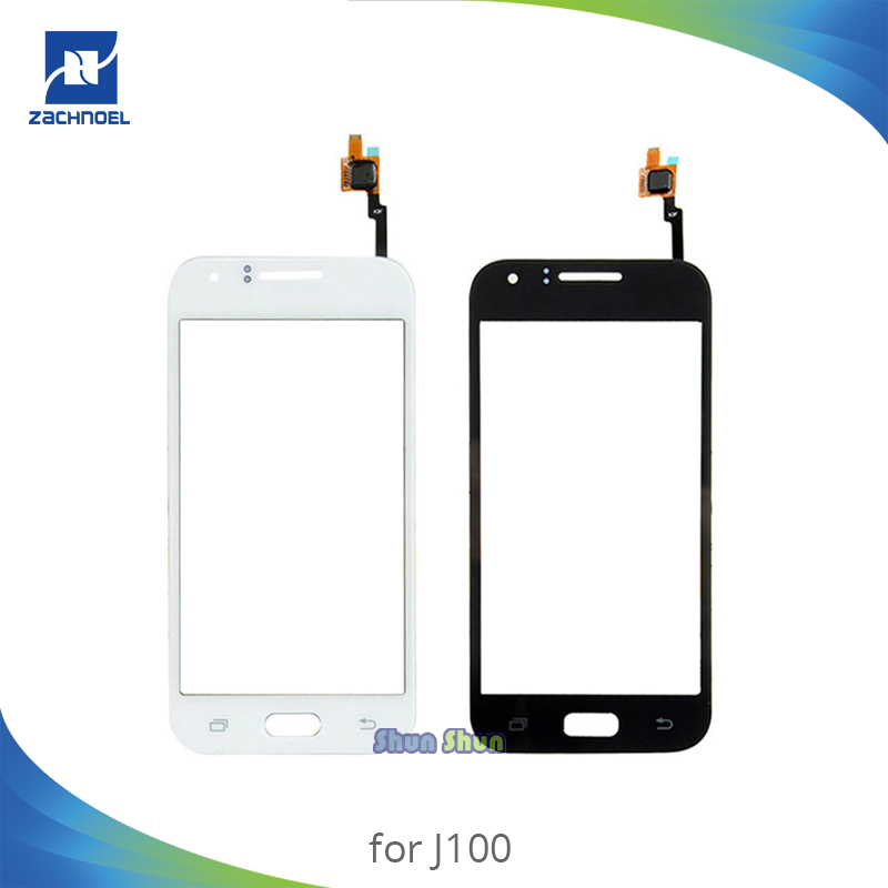 4.3'' <font><b>J100</b></font> <font><b>Touch</b></font> Panel For Samsung Galaxy J1 <font><b>J100</b></font> J100F J100H <font><b>Touch</b></font> <font><b>Screen</b></font> Digitizer Sensor Front Glass Lens Black White image