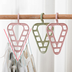 9-Hole Magic Clothes Hanger Closet Organizer Space Saving Multi-function Drying Racks Wardrobe Scarf Storage Cloth Hanger